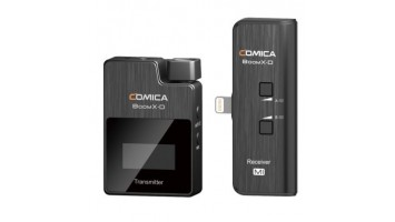 COMICA BOOMX-D MI 1 2.4G DIGITAL WIRELESS MICROPHONE SYSTEM FOR APPLE SMARTPHONES AND TABLETS