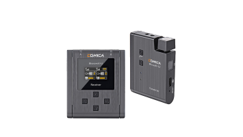 Comica Audio BoomX-U U1 Compact UHF Wireless Microphone System for Mirrorless/DSLR Cameras (568 to 579 MHz)