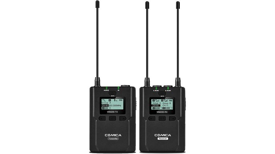 COMICA CVM-WM200C UHF  Microphone Set