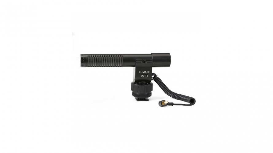 E-image DS-18 On-camera microphone for DSLR, camcoders and portable recorders
