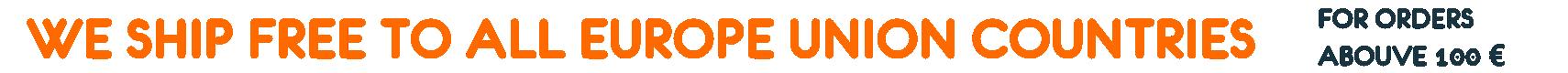 Free Shipping EU