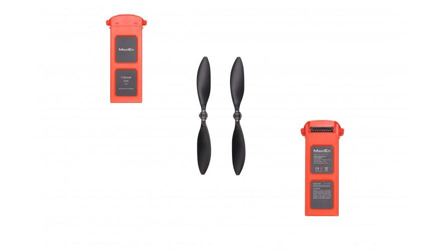 2x Battery + 1x Propellers Bundle for EVO II